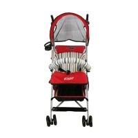 Stroller Bayi Pliko Winner (Merah) baru, murah dan simple