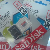 SanDisk Micro SDHC Mobile Ultra Class 10 UHS-I + Adapter - 8GB