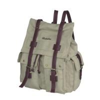 Jual Tas Wanita Ransel/ Backpack Cream Canvas Raindoz - 474 Murah