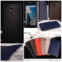 Motorola Nexus 6 - Super Thin Hard Case