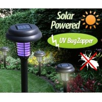 Lampu Taman Anti Nyamuk LED Bug Zapper Solar Lawn