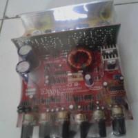 Rangkaian Kit Audio Mobil Super Bass SUB+POWER+TONE CONTROL PLATINUM 2