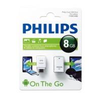 FLASHDISK PHILIPS 8GB OTG USB 2.0