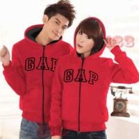 Jaket Couple GAP Merah