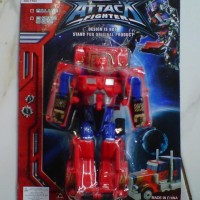 Mainan Robot Attack Fighter New Series
