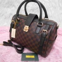 Grosir Tas Online! Tas Wanita Louis Vuitton DOCTOR DAMIER (SEMI SUPER)