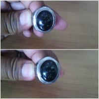 Blackjade Dengan Ring Jermanium 19mm