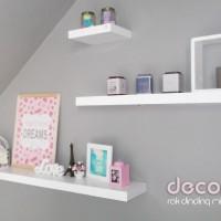 1 Set Floating Shelves / Rak Dinding / ambalan veco sheet isi 3 pcs