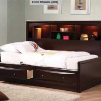 Tempat Tidur Anak-Anak Double Laci