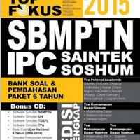 harga Top Fokus SBMPTN SAINTEK 2015 (Paket 6 tahun) IPC Tokopedia.com