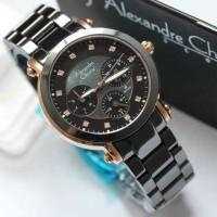 ALEXANDRE CHRISTIE 2377 Black Rose Gold