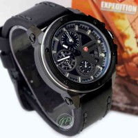 Expedition 6603 Full Black Leather