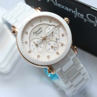 ALEXANDRE CHRISTIE 2377 White Rose Gold