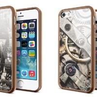 [N.A] iPhone 4 / 4s & 5 / 5s - SPIGEN ULTRA HYBRID OEM + CARD + BONUS