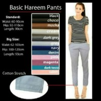 BASIC HAREEM PANTS (BIG SIZE)