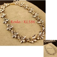 Kalung Fashion Gold Color - KL586