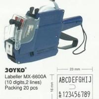 Price Labeller - Joyko - MX-6600A (double line Alphabet & Number)