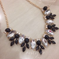 [necklace] Flower Chantume Necklace - HJJ10 by Hellojay