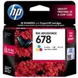 HP Tri-color Ink Cartridge 678 [CZ108AA]