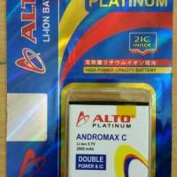 ANDROMAX C baterai ALTO double power