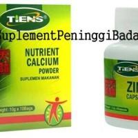nutrien calsium dan zinc