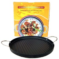 ROUND GRILL PAN BARBEQUE 30cm