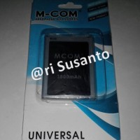 Baterai M-COM Samsung Galaxy Note 2 N7100 Replika Double Power 3800mAh