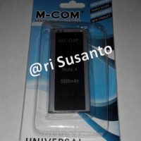 Baterai M-COM Samsung Note 4 Replika Double Power 5500mAh