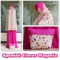 Mukena Spandek Clover Magenta