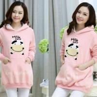 Fashion Korea - Cow Milk Pink