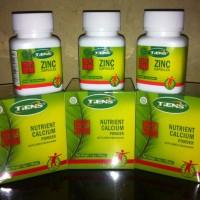 Obat Peninggi Badan Tiens Paket 30hari Alami NHCP Susu Kalsium Zinc