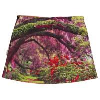 SOSOOKI A Line Skirt Digital Print