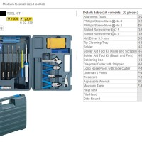 Tool Sets - Hozan - S-22