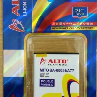 BATERAI ALTO DOUBLE POWER FOR MITO A150/ FANTASY POCKET