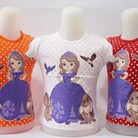 harga Kaos Anak Cewek Sofie / Baju Atasan/ Pakaian  Anak Cewek For 1y-2y Tokopedia.com