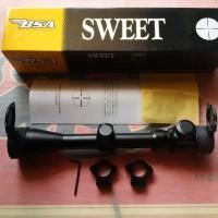 Tele BSA SWEET 22 3-9x40E tutup flip flop