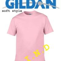 Kaos Polos Gildan Light Pink Soft style