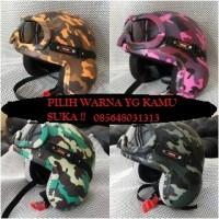 harga Helm Pilot Army Plus Kacamata Tokopedia.com