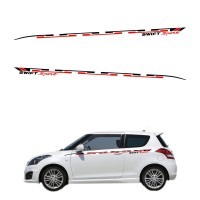 Sticker Body Stripe Suzuki Swift Sport 001