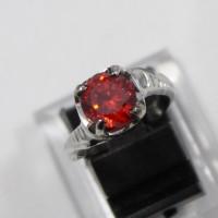 harga Cincin Wanita / Cewek Monel Batu Diamond Merah Delima Tokopedia.com