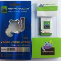 harga Baterai Hippo Blackberry F-m1 Pearl 3g, 9100, 9105, Style 9670 1600mah Tokopedia.com