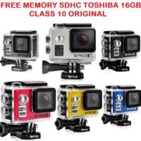 BRICA B-PRO/BPRO 5 APLHA 12MP,WIFI,GARANSI RESMI, FREE MEMORY 16GB