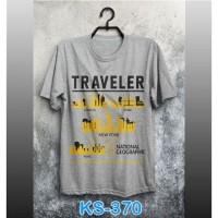 Kaos Nat Geo Traveler ks-370 KS-370