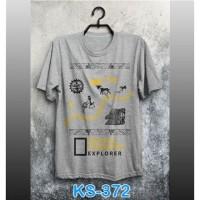 Kaos Nat Geo Explorer ks-372 KS-372
