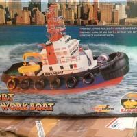R/C Seaport Work Boat Import