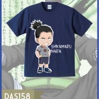 T-shirt Pria Shikamaru Nara