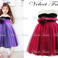 Baju Anak - Amber Velvet Fanta (GI-592)