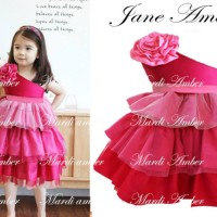 Baju Anak - Jane Amber Pink (GI-586)