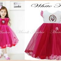 Baju Anak - Amber Kitty Dress (GI-588)