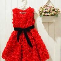 Baju Anak - Litte Rose Dress (GI-589)